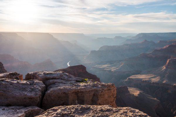 Grand Canyon - Abendsonne