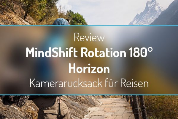 Review: MindShift Rotation 180° Horizon - Kamerarucksack für Reisen