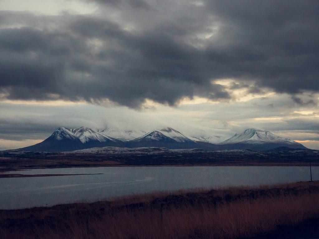 Island Wolken Norden