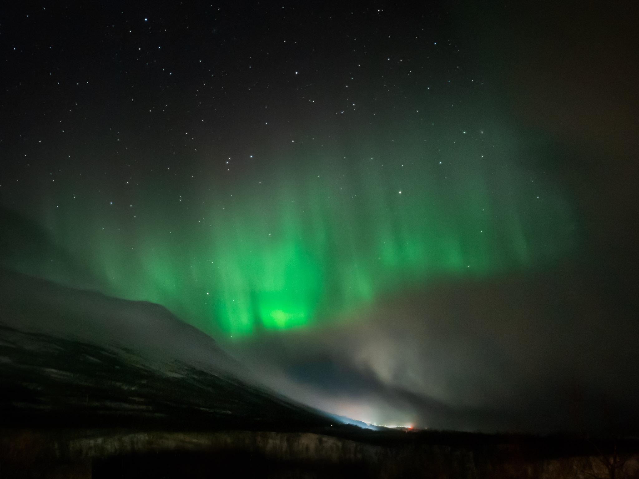 Wie du Polarlichter fotografieren und bearbeiten kannst